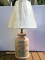 Nathan Lagin Co Handmade Ceramic Lamp