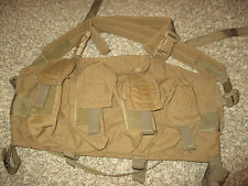LBT 0290D ENHANCED Chest Rig * Rhodesian Chest Rack Tan London Bridge Trading Co