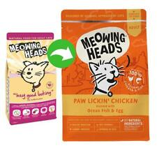 Meowing Heads Purr Nickety Cat Food Salmon 4kg Natural Tasty Complete Adult Cats