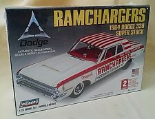 Dodge 330 1964 Model Kit Ramchargers Super Stock New Lindberg 2007 72161 1:25.