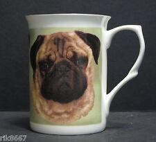 Pug Dog Fine Bone China Mug Cup Beaker