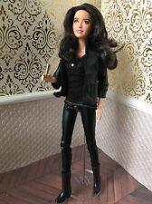 Rosemarie Hathaway Vampire Academy Hunter OOAK Custom Repaint Barbie Doll 1/6