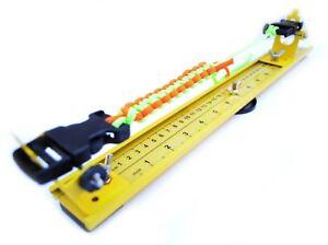 "15"" Professional Paracord Jig - Lightweight Aluminum for Bracelets, Belts,Slings"