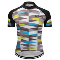 Men's Cycling Jerseys Bicycle Bike Riding Women Man Breathable Shirts New Dkgemn