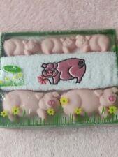 Pig Soap Gift Set BNIB
