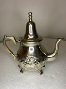 Genuine handmade Moroccan teapot
