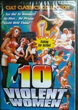 10 Violent Women (Dvd,2007) NEW SEALED UNRATED REGION 1 U.S.A IMPORT Cult movie!