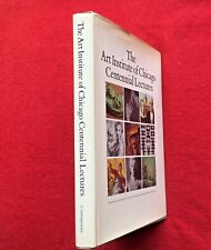 THE ART INSTITUTE OF CHICAGO CENTENNIAL LECTURES - MUSEUM STUDIES 10 1983 VG HB