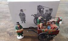 """Dept. 56 Haritage Village """"Chelsea Market Curiosities Monger & Cart"""" #58270"""