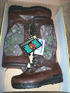 Mens 10.5 W Snake Proof Boots Waterproof Boots Camo Hunting Boots Leather Boots