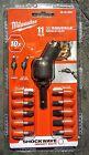 MILWAUKEE 48-32-2301 Shockwave 11PC. 30° Knuckle Bit Set