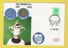 Cricket-TIMBRO COVER-PRUDENTIAL Cup-NUOVA ZELANDA V SRI LANKA - 1983