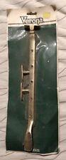 """Vintage Solid Brass Verona Window Latch Lock Catch Fastener 12"""""""