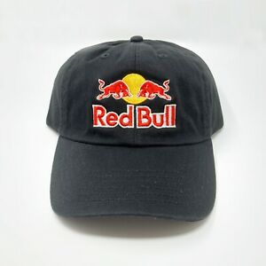 Red Bull Unstructured Dad Adjustable Hat Redbull Black Baseball Cap