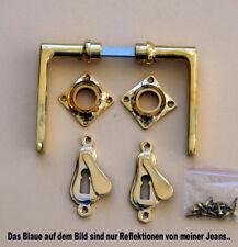 Luxusgriffe Bauhaus Antik Messing Tür Griffe Türgriffe Rosetten BB Art Deco R37P