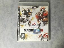 MADDEN NFL 10 - FOOTBALL AMERICANO - SONY PS3 - PAL - COMPLETO COME NUOVO