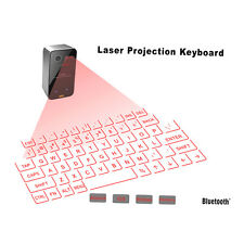 Mini Portable Laser Virtual Projection Keyboard And Mouse To For Tablet Pc GO