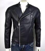 Armani Exchange A X $310 Mens Faux Leather Blouson Moto Jacket - 3YZB01ZNV9Z XXL