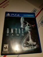 Until Dawn PLAYSTATION 4 PS4 Action Adventure Video Game Excellent Condition