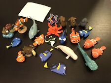 NEMO marin dory bruce crush squiz playset DISNEY PIXAR lot de 9 figurines NEUF