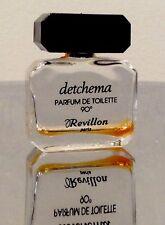 REVILLON - DETCHEMA - Miniature Ancienne Parfum De Toilette 4ML -1970's