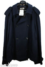 MENS AQUASCUTUM MARDIN NAVY JACKET / COAT – MEDIUM – RRP £550 !!!!! - BRAND NEW