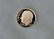 2007-S Roosevelt Silver Proof Dime Gem Cameo