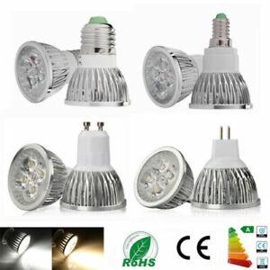 MR16 GU10 E27 E14 9W 12W 15W LED Spot Spotlight Light Lamp Bulb Warm Cool white