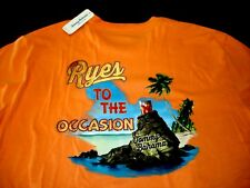 TOMMY BAHAMA XXLT Mens T Shirt NEW TAG Orange Ryes to Occasion $59.50 XXL TALL