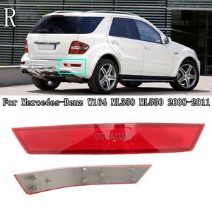 Right Rear Bumper Reflector Light For Mercedes-Benz W164 ML350 ML550 2008-2011