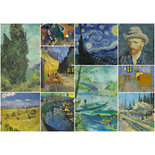 250 Pieces Thick Wooden Jigsaw Puzzle / Van Gogh Artwork