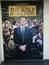 Very special large movie banner / poster - The Wolf of Wall Street  300 x 200 cm