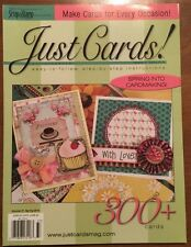 Scrap And Stamp Just Cards 300 Plus Cards Spring 2015 FREE SHIPPING!