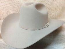 Stetson 5X Lariat Silverbelly Beaver Fur Felt Western Rodeo Cowboy Hat