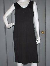 NWT black GAP MATERNITY sleeveless dress L knit SUPER COMFORTABLE tank dress NEW