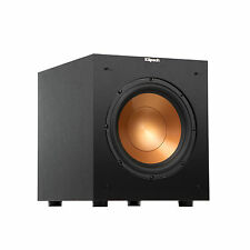 "Klipsch 10"" Black Powered Subwoofer - R-10SW PAIR 2 subs B Stock"