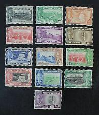 CKStamps: GB Montserrat Stamps Collection Scott#114-126 Mint H OG