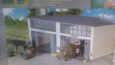 * Herpa Military 745857 Building set 2-stall Repair facility 1:87 HO Scale