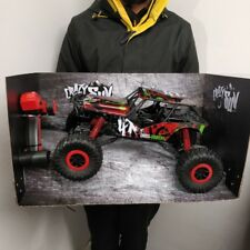 HUGE  RC Car 1/10 50cm Monster Truck 4WD Rock Crawler Rechargeable Fast Toy Kids