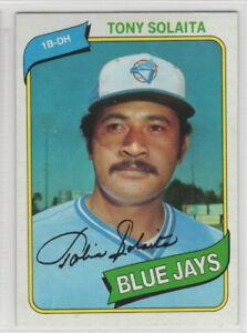 1980 Topps Baseball Toronto Blue Jays Team Set