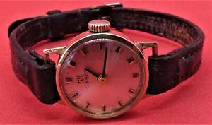 9ct Gold Ladies Tissot Wrist Watch