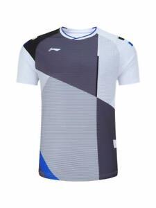 NEW Li-Ning Men Badminton T-Shirts for Tennis clothes Sport Tops