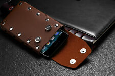 For Samsung A10e Leather Vertical Case Cover Pouch Holster With Belt Loop