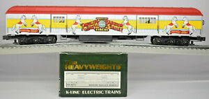 K-LINE  RINGLING BROTHERS AND BARNUM & BAILEY HVYWGHT HORSES BAGGAGE K83-0072-1