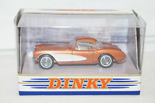 DINKY COLLECTION dy-23 B CHEVROLET CORVETTE 1956 Bronze 1:43 MATCHBOX