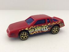 Hot Wheels 1988 Chevy Stocker Track Aces Monte Carlo Red Blue Window 1/64