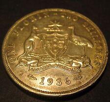 1936 Australia 2/- Two Shillings One Florin #936-F-2 =HIGH GRADE=