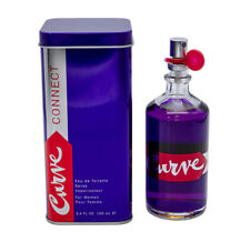 Curve Connect by Liz Claiborne 3.4 oz EDT Perfume for Women New In Box