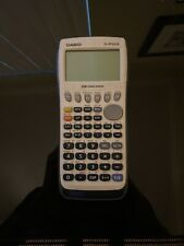 Casio Fx-9750Gii Graphing Calculator Tested Works. With Cover