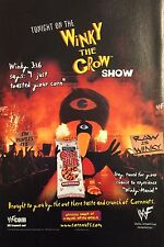 WINKY THE CROW SHOW CORN NUTS Promo Advertisement (WWF)
